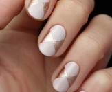 Mani Monday: Pink and Rose Gold Bow Nail Tutorial