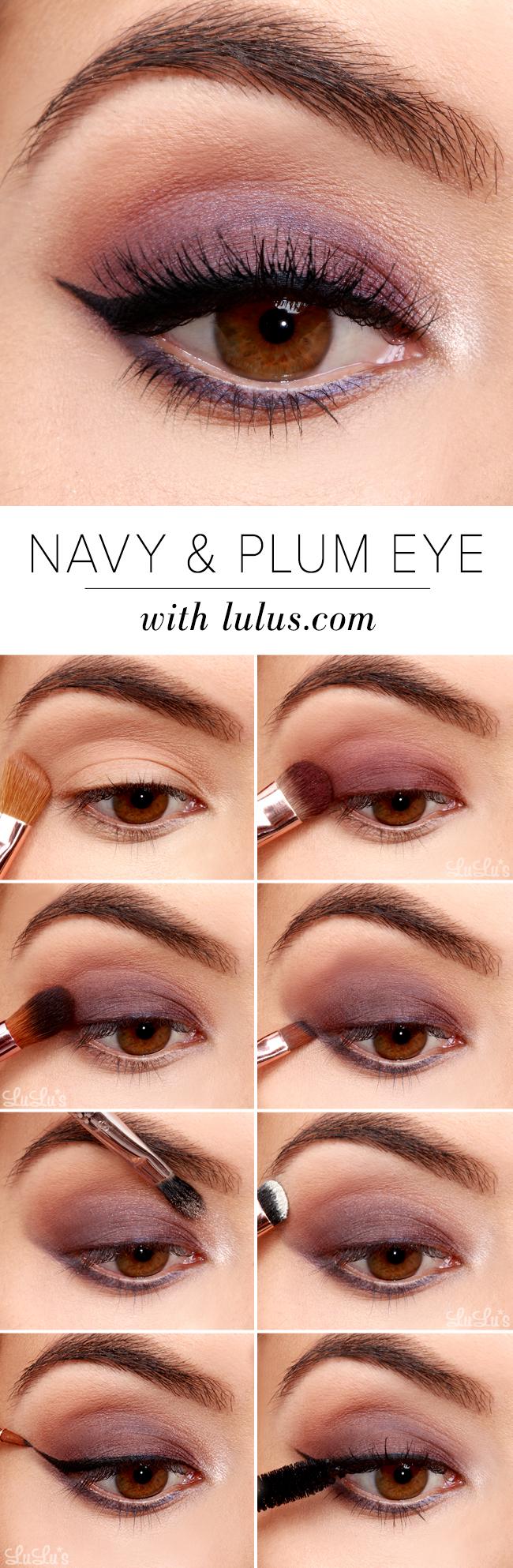 Plum smokey eye makeup   eye makeup, skin makeup, smokey eye makeup.