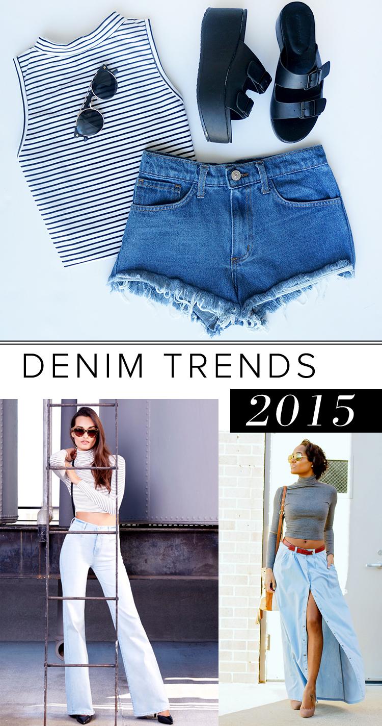 Denim for 2015
