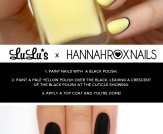 Mani Monday: Black and Yellow Nail Tutorial