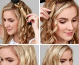 LuLu*s How-To: Side Swept Curls Hair Tutorial
