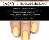 Mani Monday: Purple and Yellow Color Block Nail Tu…