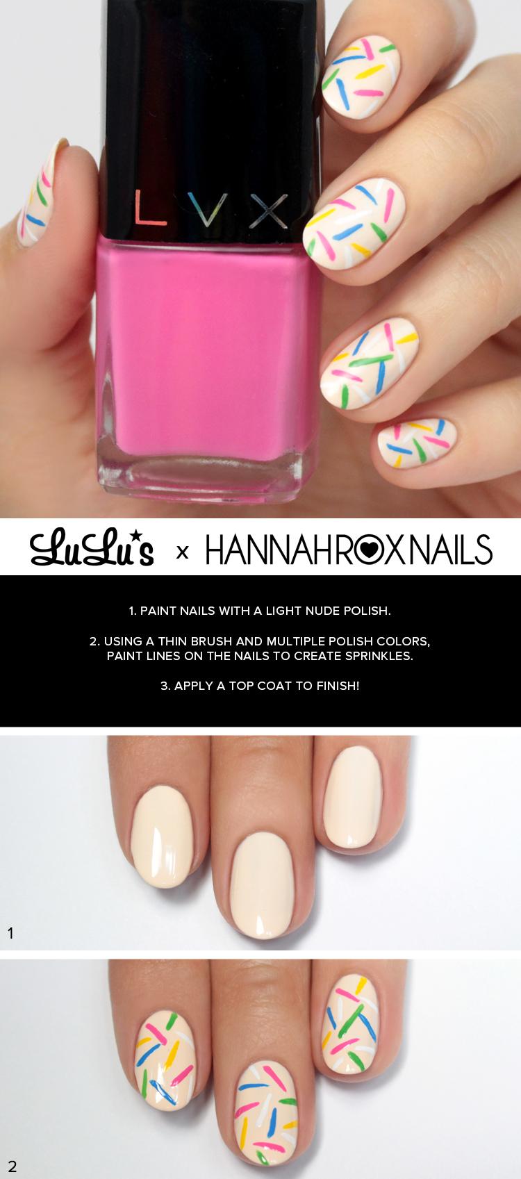 sprinkles nail