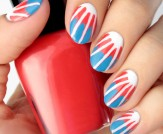 Mani Monday: 4th of July Tie-Dye Nail Tutorial