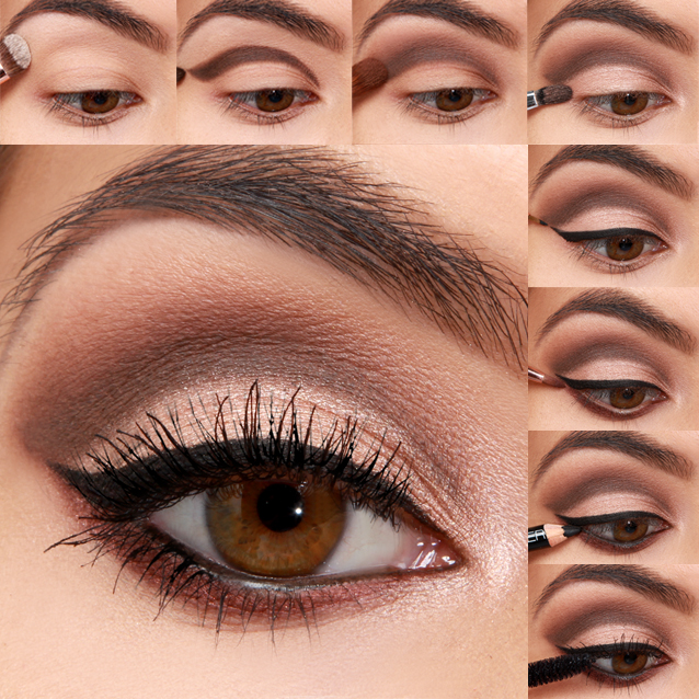 Glamorous Wedding Makeup Tutorial : LuLu*s How-To: Bridal Eye Makeup Tutorial - Lulus.com ...
