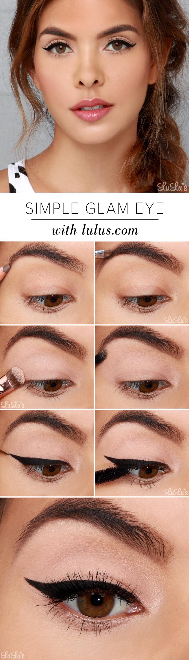 Simple Glam Eye Makeup Tutorial