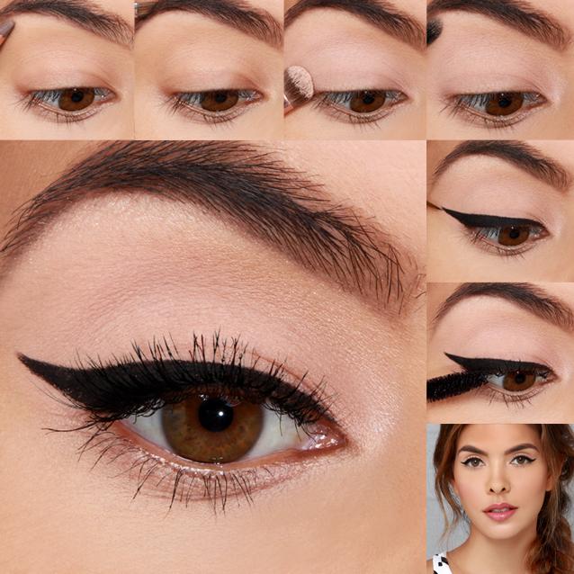 Lulus How To Simple Glam Eye Makeup Tutorial Lulus 28 Images