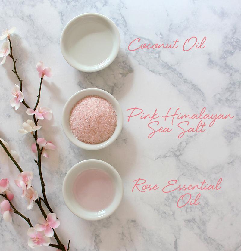Coconut Rose Body Scrub Diy Lulus Com Fashion Blog