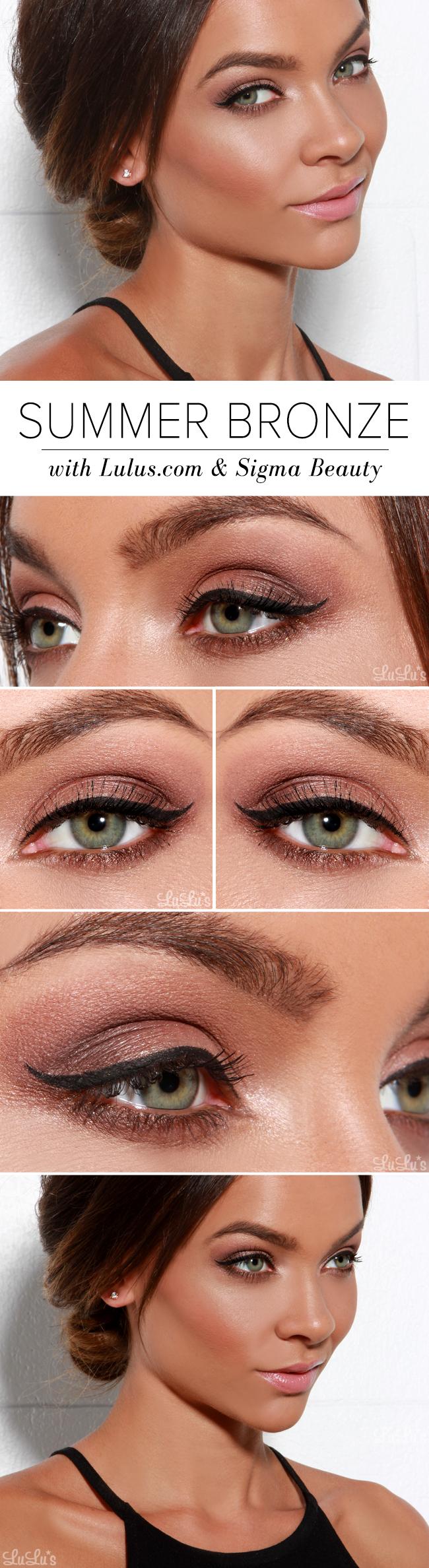 Summer Bronze Makeup