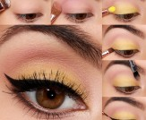 LuLu*s How-To: Canary Yellow Eye Makeup Tutorial