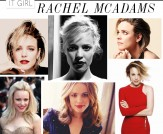 It Girl: Rachel McAdams!