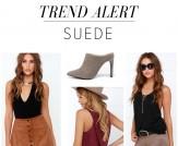 Trend Alert: Suede
