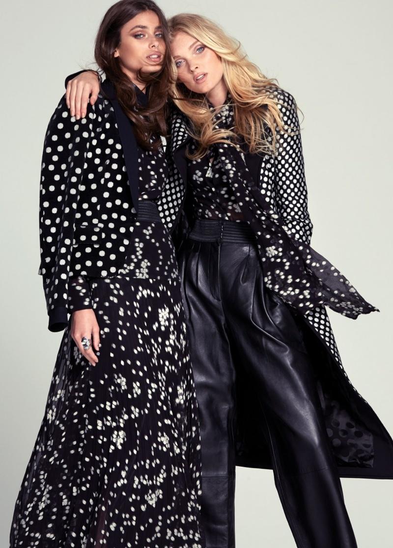 Elsa Hosk Taylor Hill For Fashion Magazine