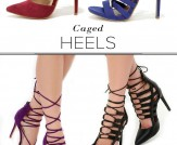 Trend Alert: Lace-Up Heels!