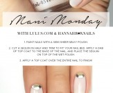 Mani Monday: Nude Sequin Nail Tutorial