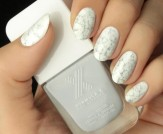 Mani Monday: White Marble Nail Tutorial