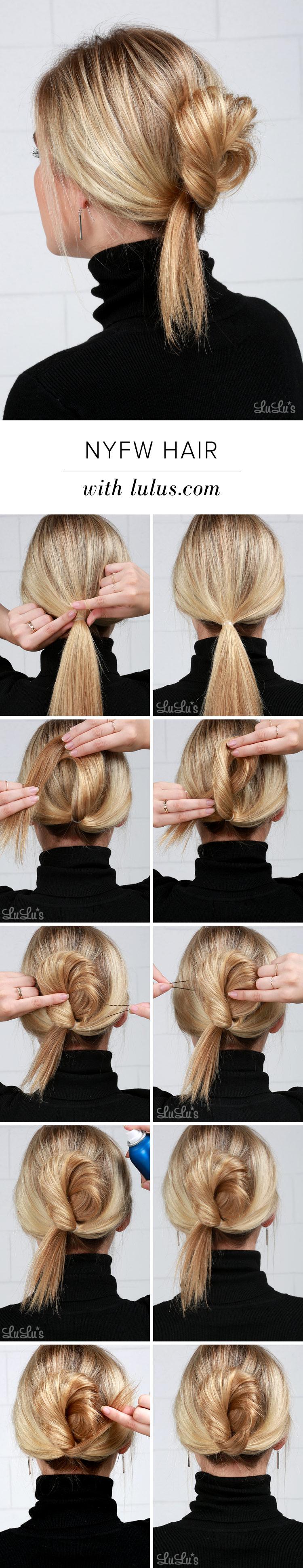 NYFW Inspired Hair