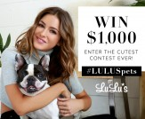 LuLu*s Pet Selfie Contest