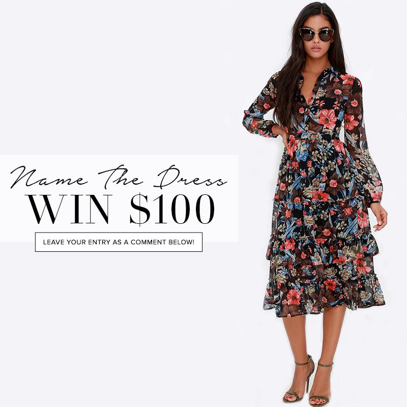 Name The Dress 291 Fashion Blog
