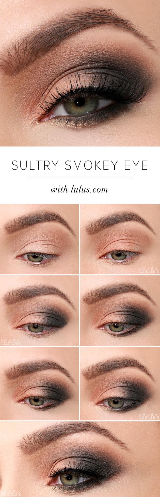 lulus how-to: sultry smokey eye makeup tutorial - lulus