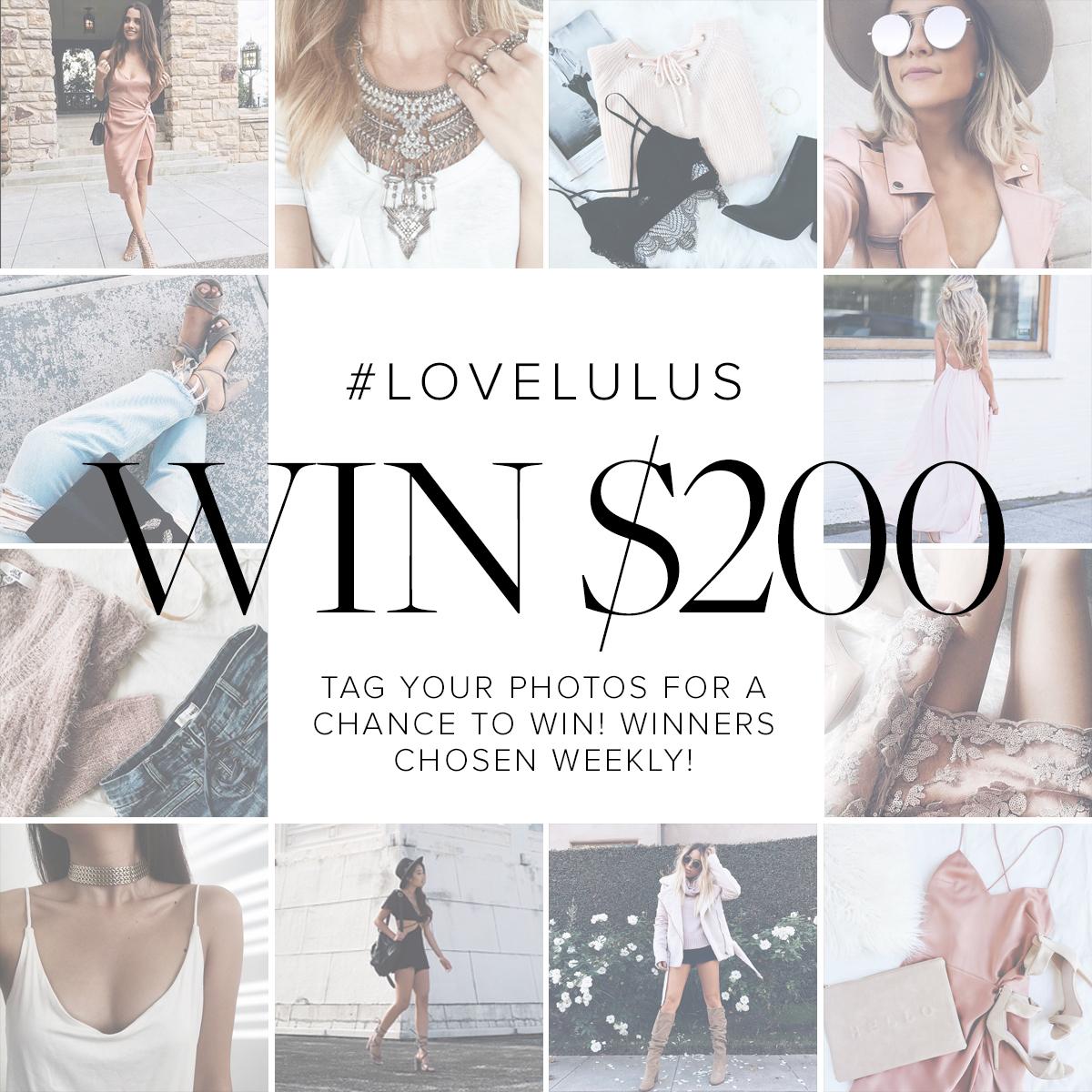 LuLu*s contest Archives - Lulus com Fashion Blog