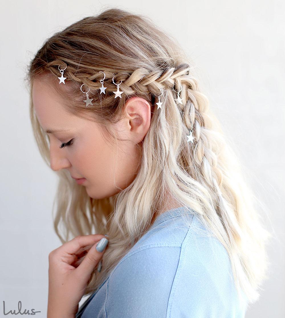 Trendy Boho Braid Tutorial Using Hair Rings | Lulus.com