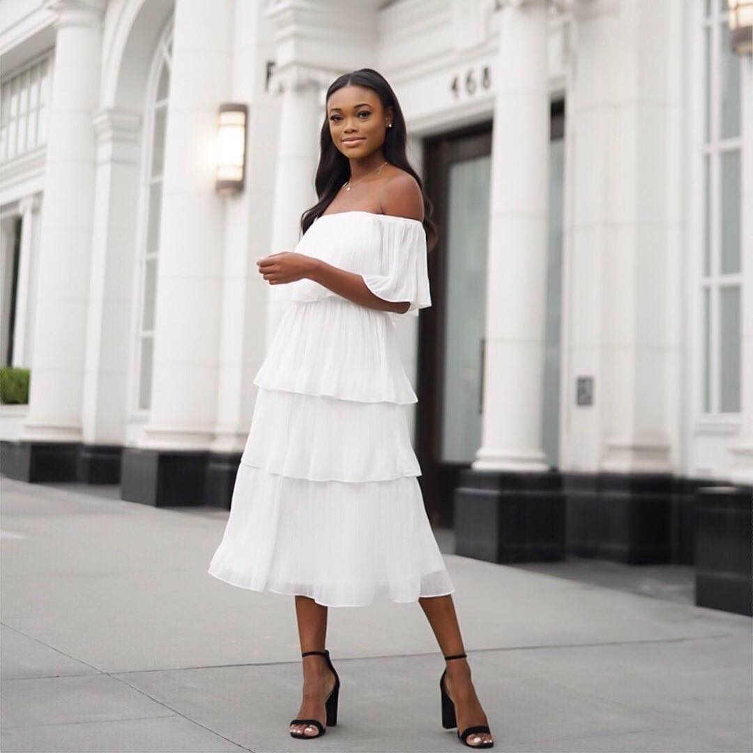 White Dress Outfits Ideas For How To Wear A White Dress