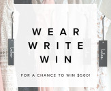 Wear. Write. Win. Summer 2017 Giveaway