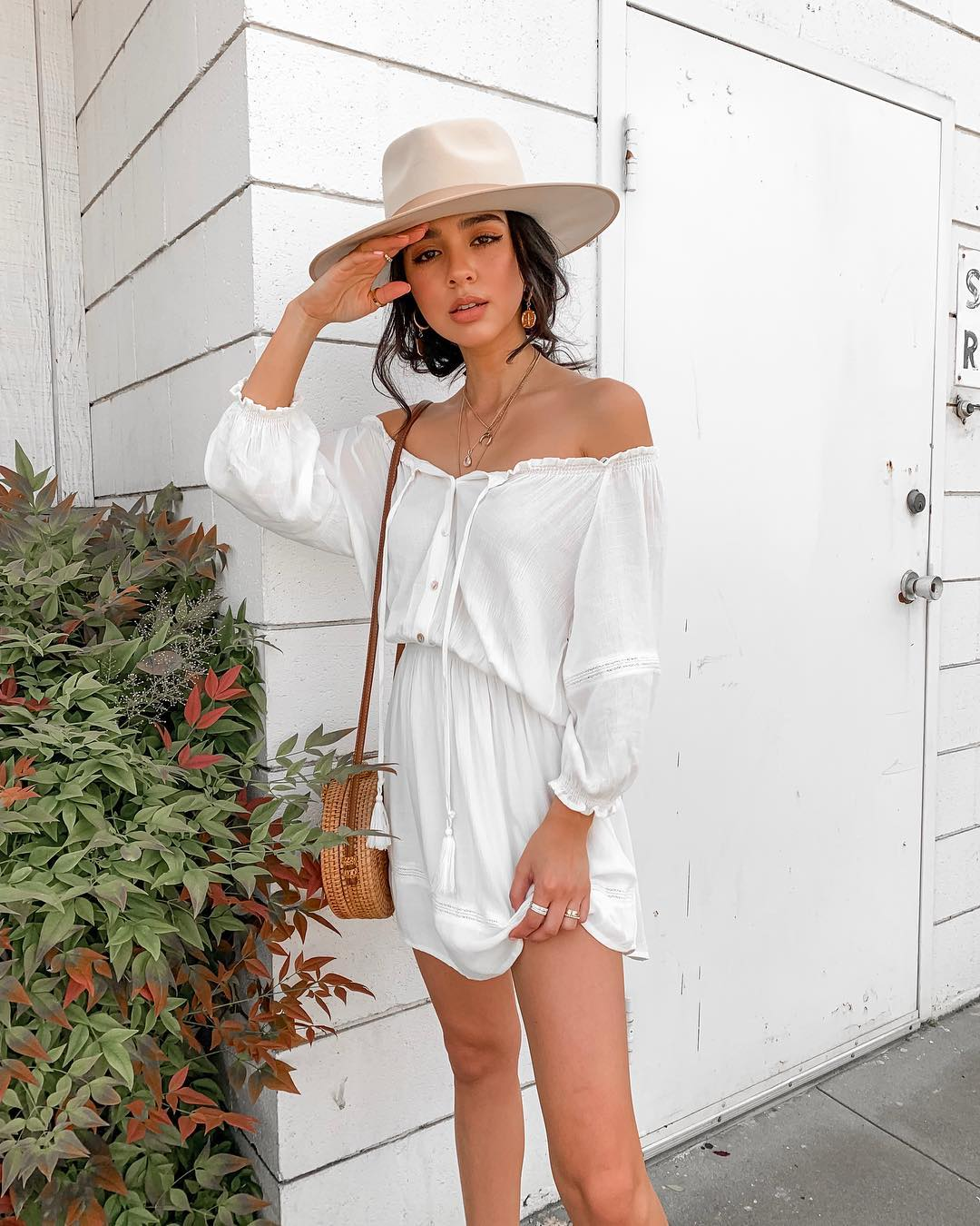 f9c924bcf8cb1 White Dress Outfits: Ideas for How to Wear a White Dress Like a ...