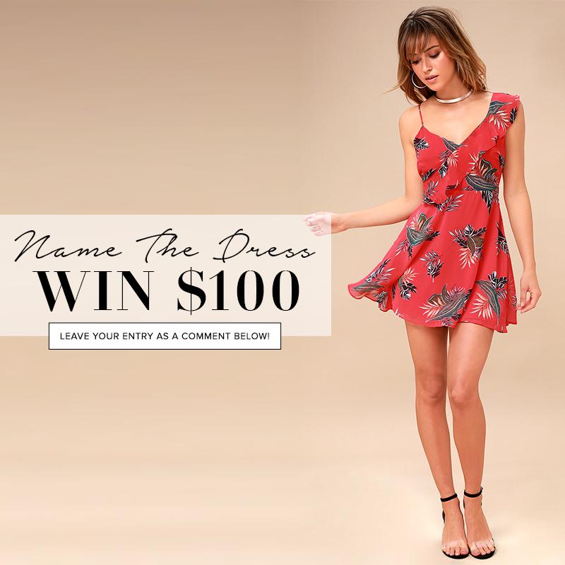 d93e62cca43 Name the Dress: #380 - Lulus.com Fashion Blog