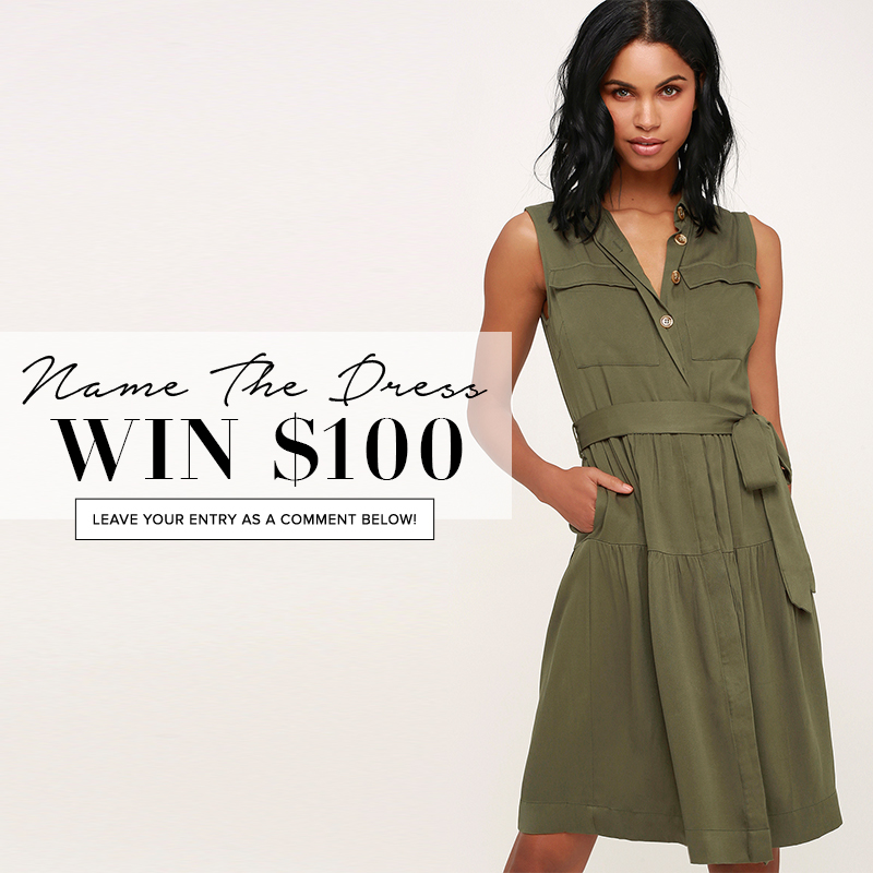 5a0f1c6bada7 Name the Dress: #400 - Lulus.com Fashion Blog