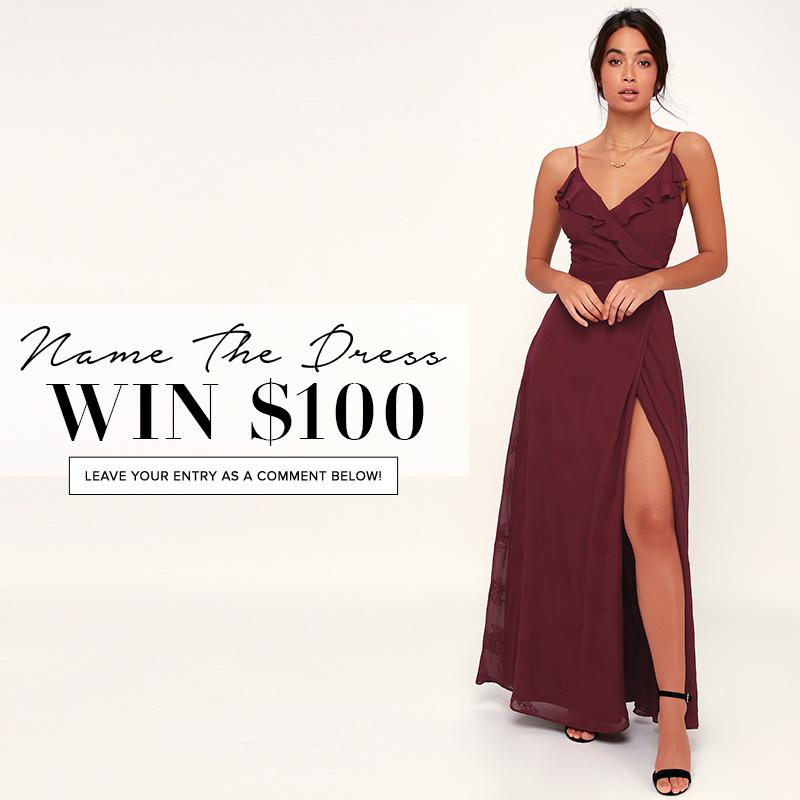 d675e296f Name the Dress   402 - Lulus.com Fashion Blog