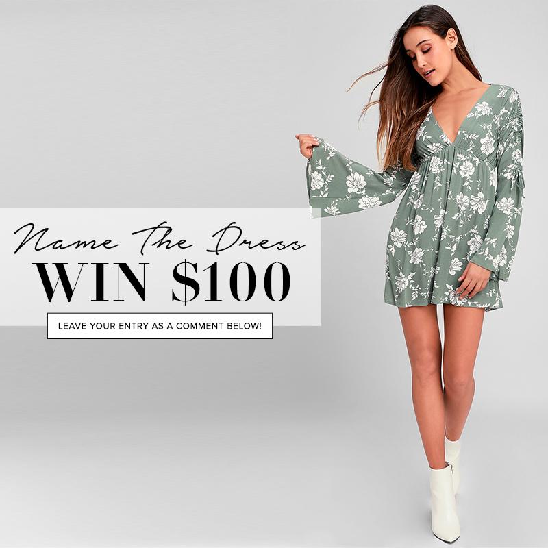 81c9102fa1c3f Name the Dress: #406 - Lulus.com Fashion Blog