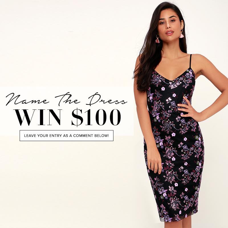 e5d5aeb7e0dc Name the Dress: #403 - Lulus.com Fashion Blog
