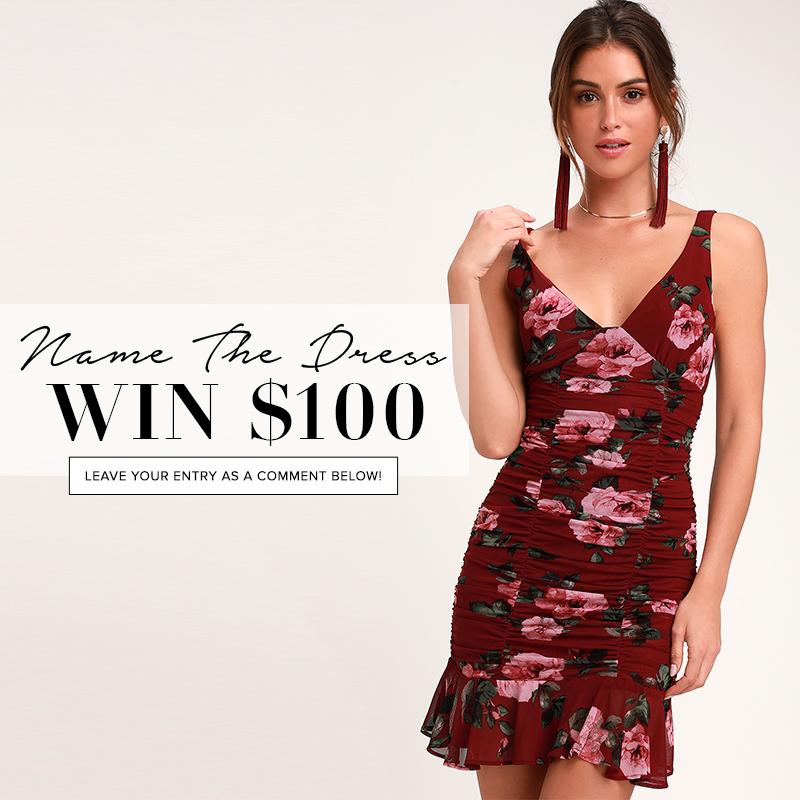 08100edb9773 Name the Dress: #413 - Lulus.com Fashion Blog