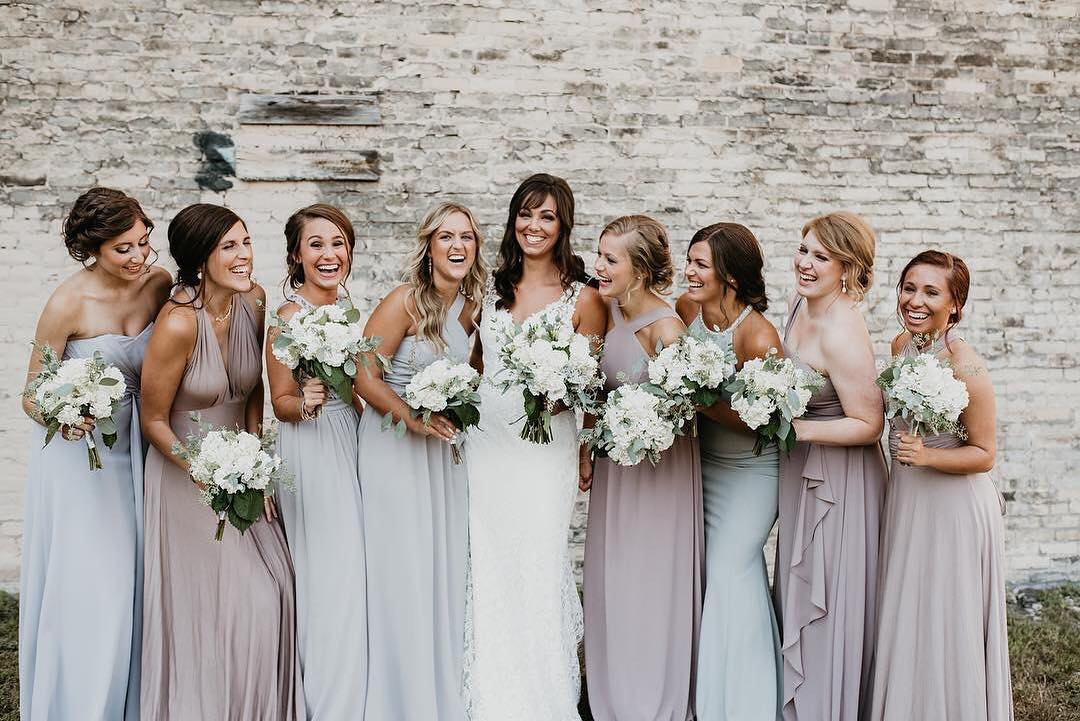 95a720349b91 mismatched bridesmaid dresses - long bridesmaid dresses -bridesmaid dresses  mix and match styles - mismatched