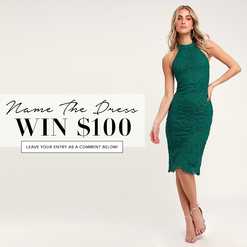 78f84c03ff8f6 Name the Dress: #416 - Lulus.com Fashion Blog