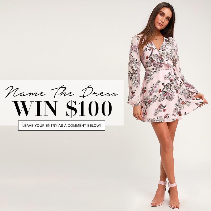 0681a82a8ac97 Name the Dress: #417 - Lulus.com Fashion Blog