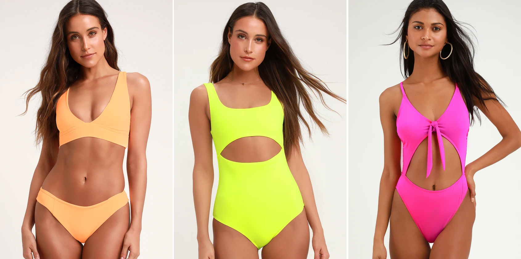 f6a9df8db1c7 neon bathing suits - neon swimsuits- spring summer 2018 swimwear trends  swimwear trends 2019 swimwear