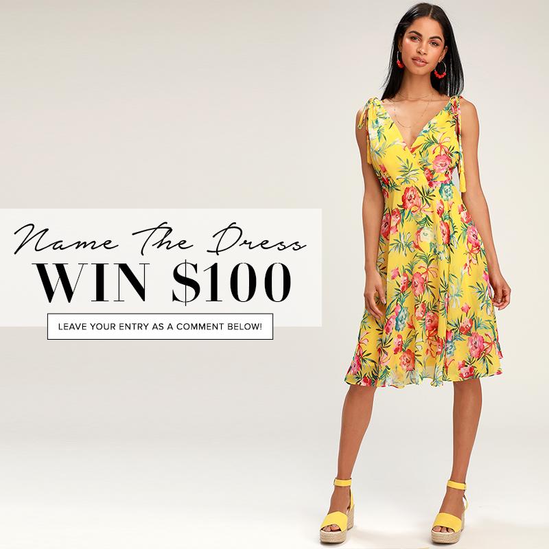 46391063e6ca Name the Dress: #423 - Lulus.com Fashion Blog
