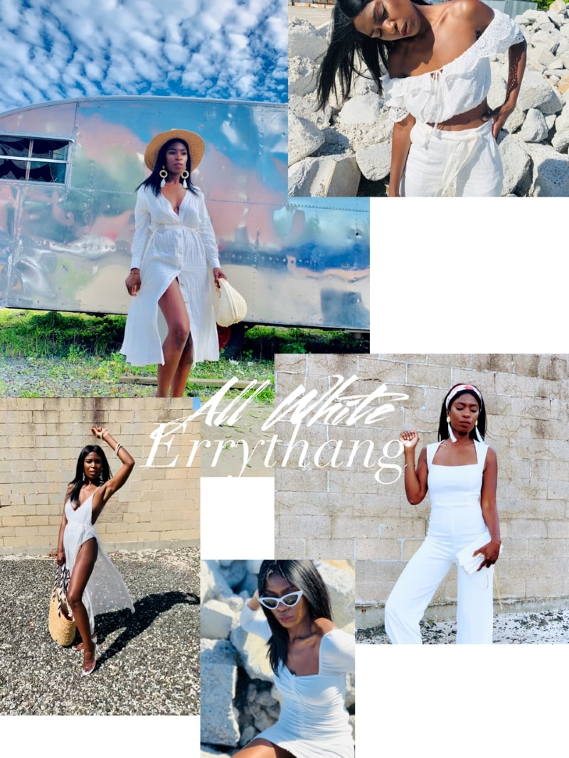 All-White Outfits for Women: 7 Un-Basic Summer Looks That Bring