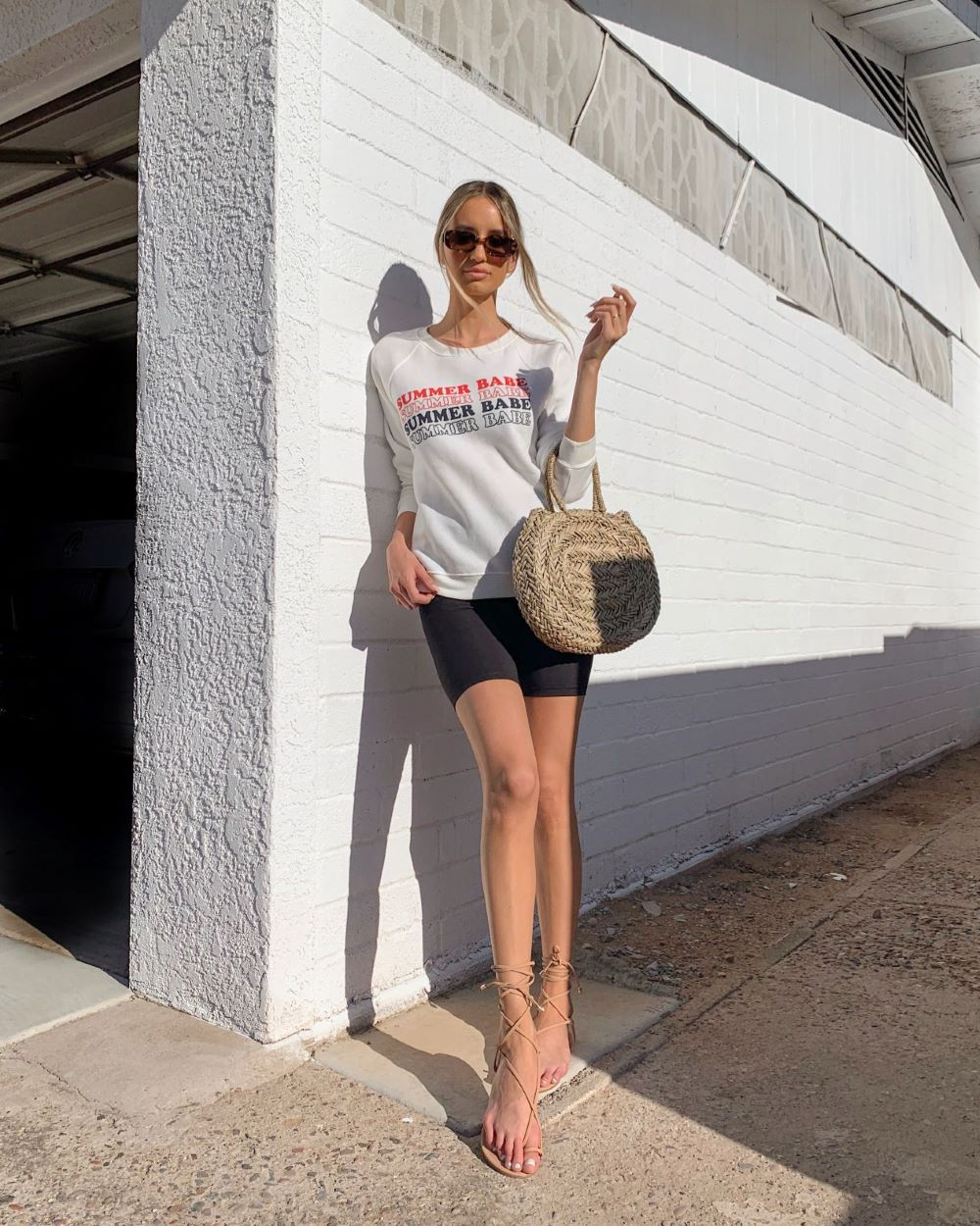 5 Ways To Wear Biker Shorts Outfits Irl Lulus Com Fashion Blog