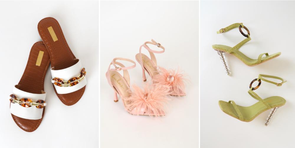 embellished spring sandals
