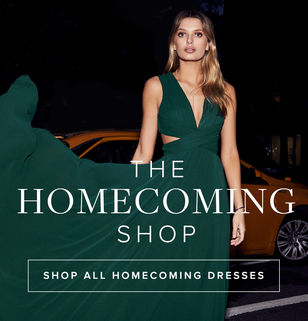The Homecoming Shop- Shop Homecoming Dresses.