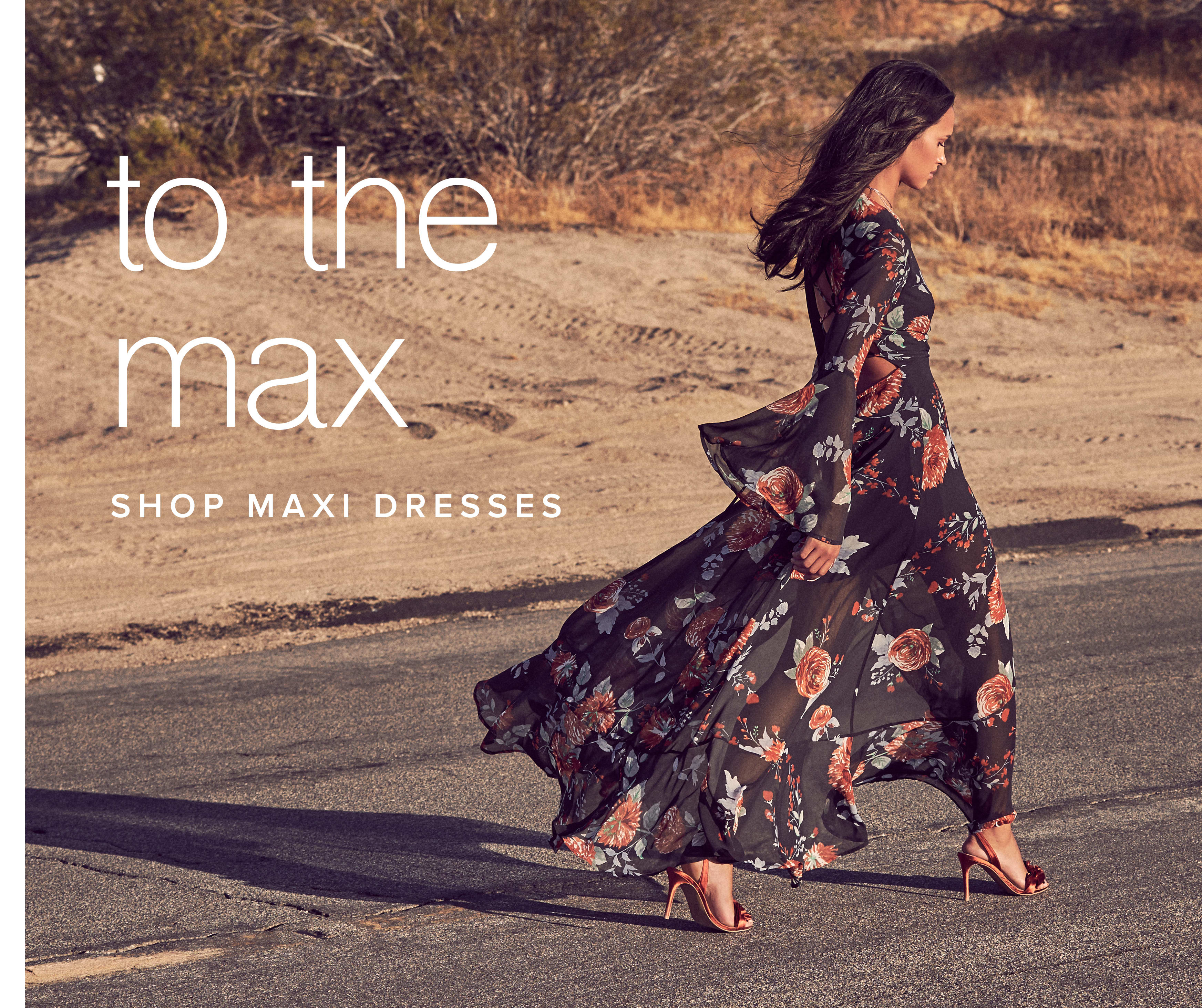 Shop Maxi Dresses and Gowns for Women.