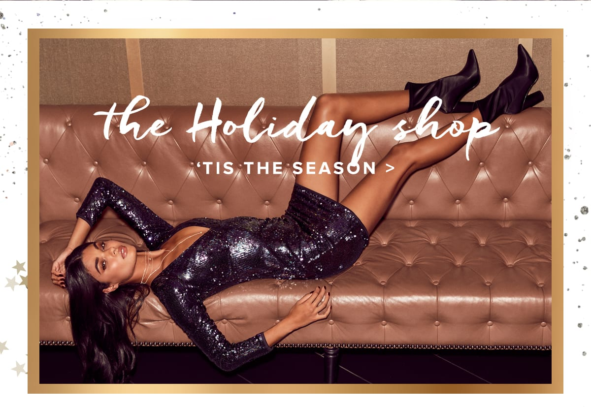 The Holiday Shop: Holiday Dresses and Gifts for Women.