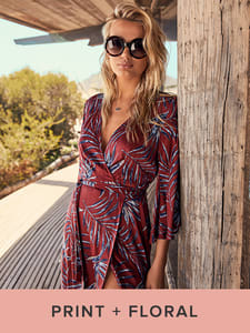 Shop Print and Floral Dresses for Women.