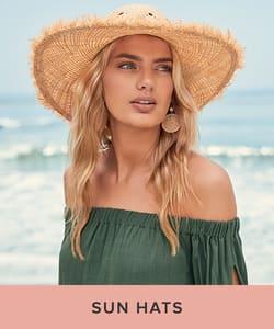 Shop Sun Hats for Women.