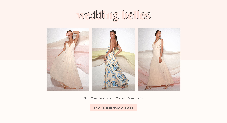 564710dcef1f7 Bridal Shop | Wedding Dresses & Bridesmaid Dresses | Lulus