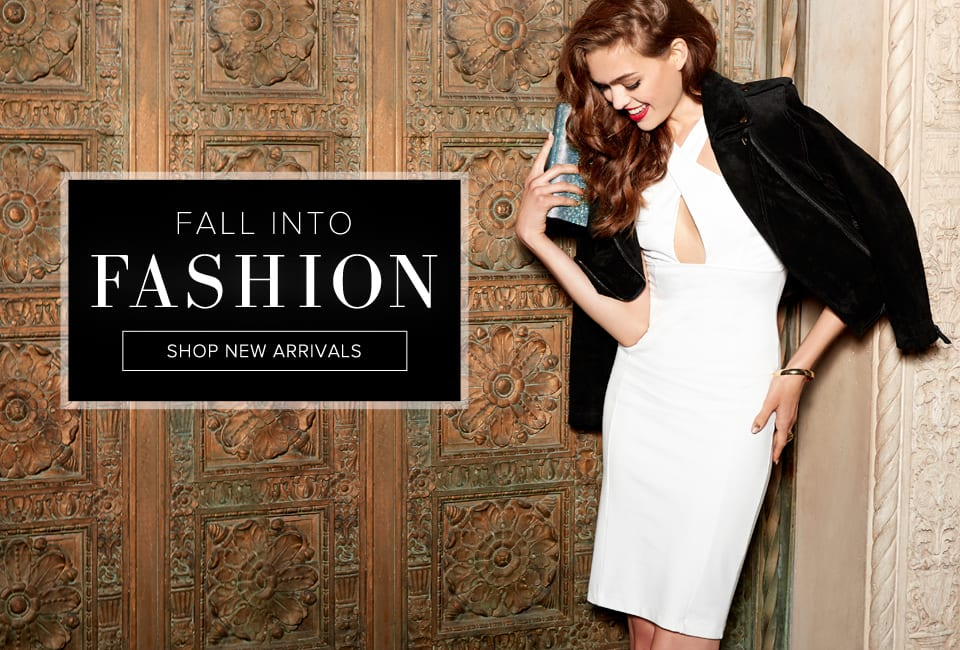 Fall Into Fashion - Shop New Arrivals